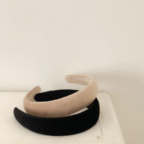 velour hairband