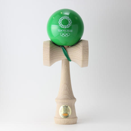 けん玉(KENDAMA)  緑  東京2020オリンピックエンブレム