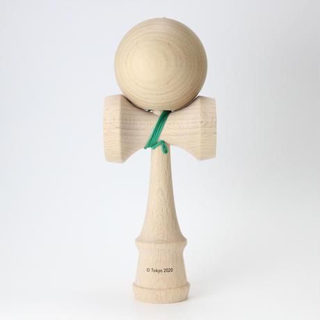 けん玉(KENDAMA)   東京2020オリンピックエンブレム  大会呼称マーク 緑