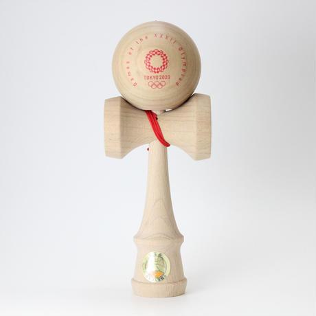 けん玉(KENDAMA)   東京2020オリンピックエンブレム  大会呼称マーク 赤