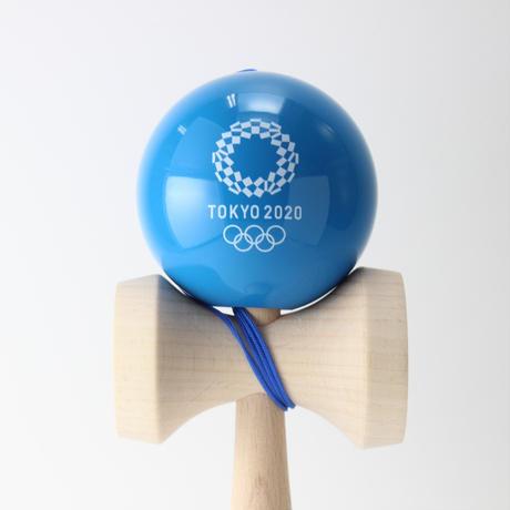 けん玉(KENDAMA)  青  東京2020オリンピックエンブレム