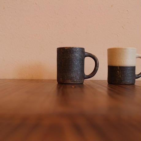 角底コーヒーカップ 2トーン・茶 B-021,B-022