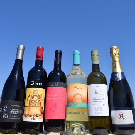 南森町/トラットリア・ニコ塩田のおすすめ!【旅するシチリア島ワイン6本セット】