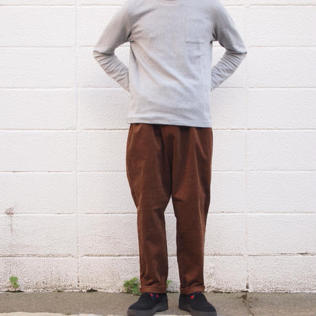Manual Alphabet〈マニュアルアルファベット〉CORDUROY THAI PANTS BROWN