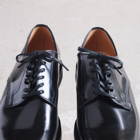 SANDERS〈サンダース〉  OFFICER SHOE BLACK
