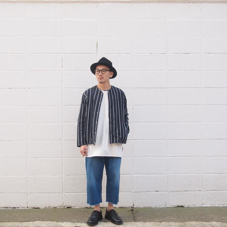 5W〈ゴワット〉  Longrand shirts - cotton flannel WHITE
