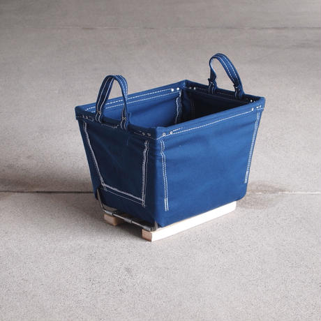 Steele Canvas Basket〈スティールキャンバス バスケット〉 SQAURE color NAVY