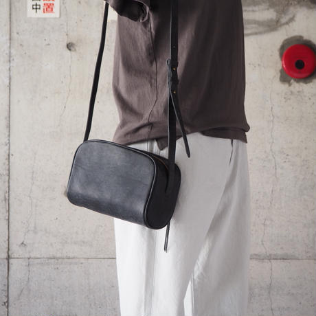 Dono〈ドーノ〉 OMELET SHOULDER BAG CHOCO/BLACK
