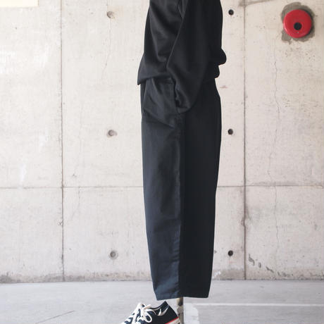 【women】Ordinary fits〈オーディナリーフィッツ〉 BALL PANTS chino BLACK