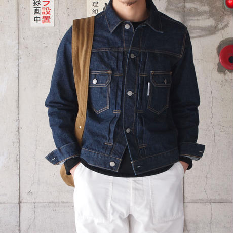Manual Alphabet〈マニュアルアルファベット〉 DENIM JACKET 2nd TYPE
