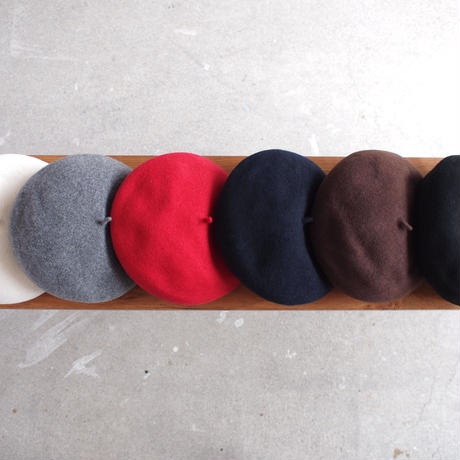 ODDS〈オッズ〉 BASQUE BERET OFF/GREY/RED/NAVY/BROWN/BLACK