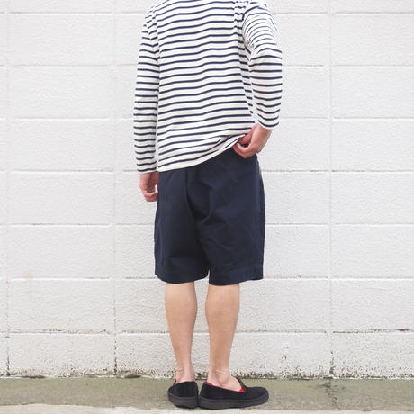 【unisex】Ordinary fits〈オーディナリーフィッツ〉 BOTTLES SHORTS NAVY