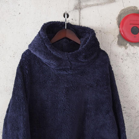 Drole & FUN〈ドロールアンドファン〉 MICRO BOA FLEECE PARKA NAVY