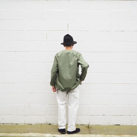 【unisex】Ordinary fits〈オーディナリーフィッツ〉 NEW FARMERS 5P DENIM white one wash WHITE