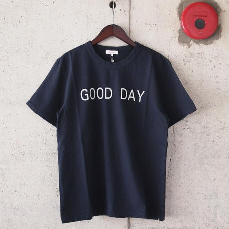 【unisex】SEIRYU & Co.〈セイリューアンドコー〉 GOOD DAY Tシャツ NAVY