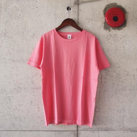 FRUIT OF THE LOOM〈フルーツオブザルーム〉US COTTON クルーネックTee WHITE/H.GREY/PINK/RED/BLUE/CHARCOAL/NAVY