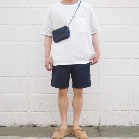 【unisex】Ordinary fits〈オーディナリーフィッツ〉 TRAVEL SHORTS NAVY