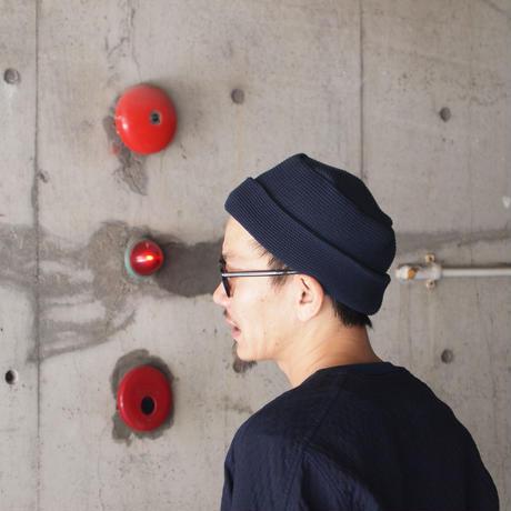 5W〈ゴワット〉Morocco knit cap NAVY