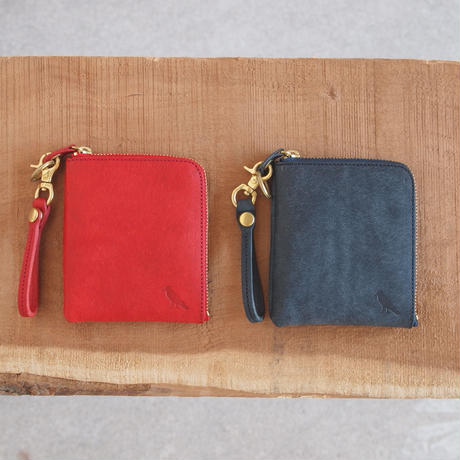 Esperanto〈エスペラント〉 PUEBLO MINI WALLET (ESP-6237) RED/NAVY/BLUE/CAMEL/BROWN/BLACK/GREY