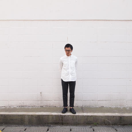 Ordinary fits〈オーディナリーフィッツ〉 INVISIBLE B/D SHIRT WHITE