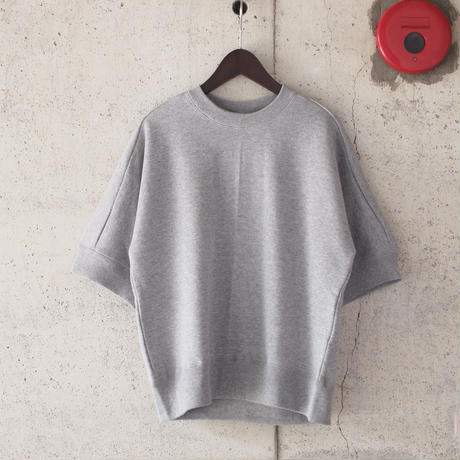 【women】Ordinary fits〈オーディナリーフィッツ〉 PUFF SWEAT TOPS (OL-S038) GREY/NAVY
