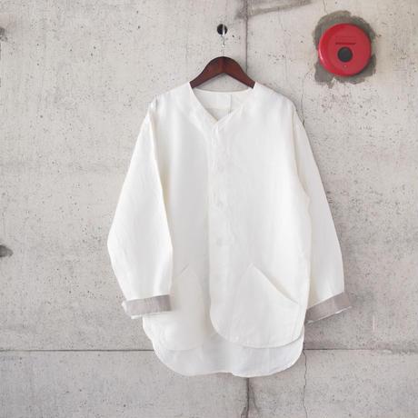 【unisex】5W〈ゴワット〉  Goun - Linen WHITE