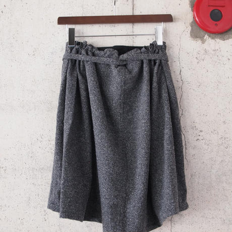 【women】Ordinary fits〈オーディナリーフィッツ〉 APRON SKIRT BLACK