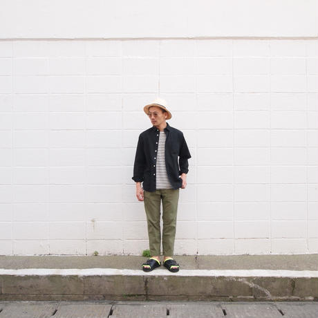 morno〈モーノ〉 PAPER CLOTH MANNISH HAT BEIGE
