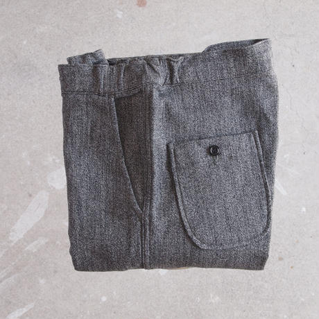 【unisex】FOB FACTORY 〈エフオービーファクトリー〉 RELAX SWEAT PANTS (F0403) CHARCOAL