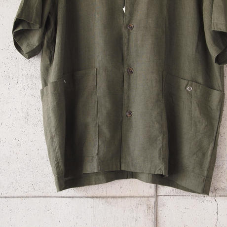 Manual Alphabet〈マニュアルアルファベット〉 COVER ALL SHIRT OLIVE