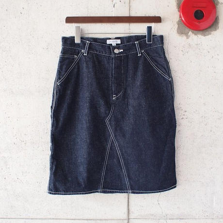 【women】Ordinary fits〈オーディナリーフィッツ〉 HOLYDAY SKIRT denim (OL-K024OW) INDIGO