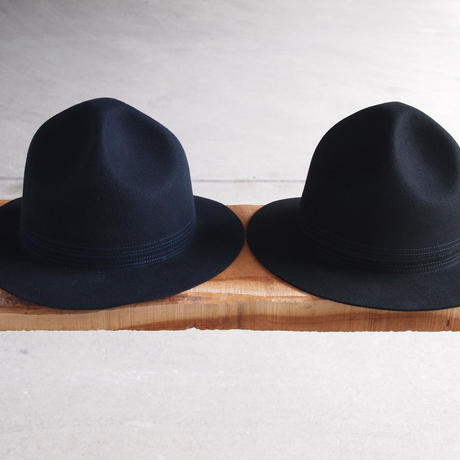 SUBLIME〈サブライム〉 MOUNTAIN FELT HATⅡ NAVY