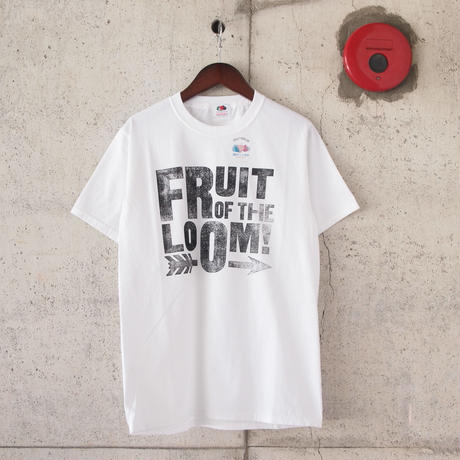 【unisex】FRUIT OF THE LOOM〈フルーツオブザルーム〉 FRUIT PARLOR ART PROJECT -  STEPHEN KENNY WHITE