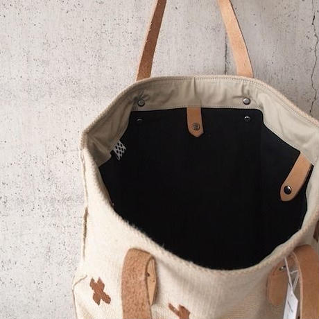 【SALE】UNITED LOT〈ユナイテッドロット〉 Fabric Tote Bag BEIGE
