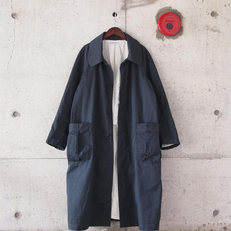 【unisex】Ordinary fits〈オーディナリーフィッツ〉 LONG COAT - HAROLD twill  INK BLACK