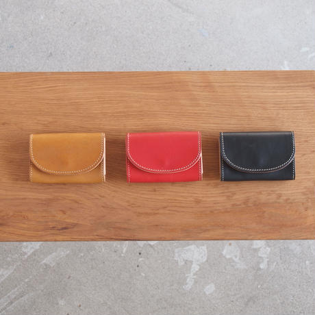 ART BROWN〈アートブラウン〉 BULGANO LEATHER 名刺入れ BROWN/RED/BLACK