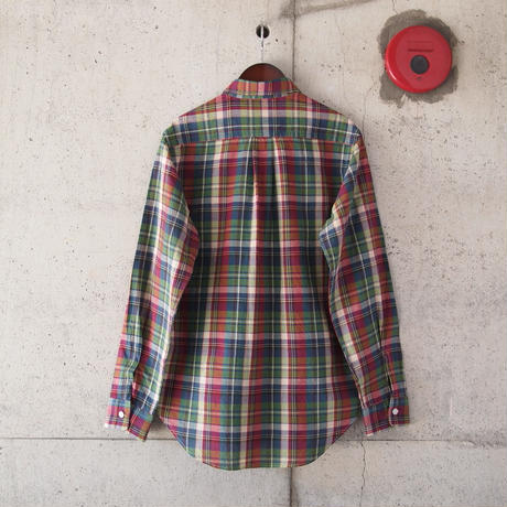 SUNNY SPORTS〈サニースポーツ〉 CHECK REG L/S SHIRTS (sn16s008) BLUE CHECK