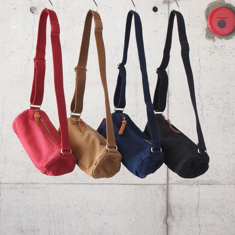 Butler Verner Sails〈バトラーバーナーセイルズ 〉 ROLL SHOULDER BAG RED/BLUEGREY/CAMEL/BLACK/NAVY