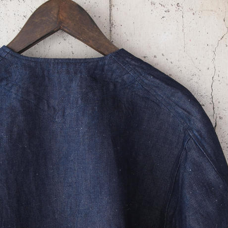 【unisex】5W〈ゴワット〉  Gaungi - Cottonlinen 8oz denim INDIGO