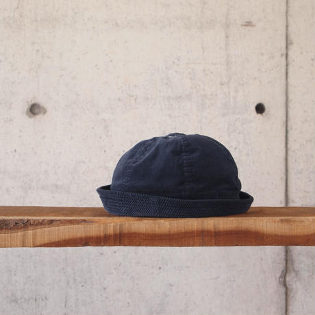 morno〈モーノ〉 OVERDYE SAILOR HAT CHARCOAL/NAVY