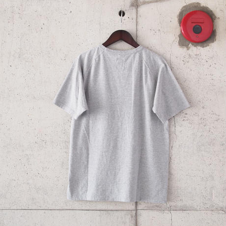 FOB FACTORY〈エフオービーファクトリー〉 FREEDOM SLEEVE TUBE POCKET T-shirt (F7095) GREY
