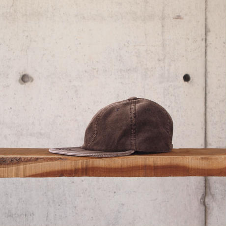 morno〈モーノ〉 CORDUROY B.B. CAP BROWN/NAVY