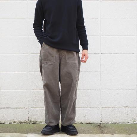 【unisex】Ordinary fits〈オーディナリーフィッツ〉 JAMES PANTS corduroy KHAKI