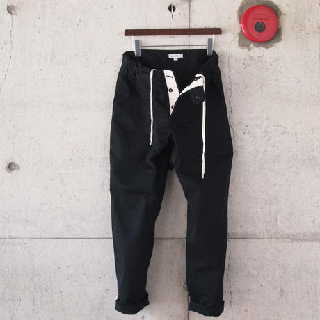 【unisex】Ordinary fits〈オーディナリーフィッツ〉 RUGBY PANTS BLACK