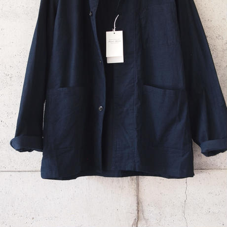 Manual Alphabet〈マニュアルアルファベット〉 CORDUROY WORK SHIRT JACKET NAVY