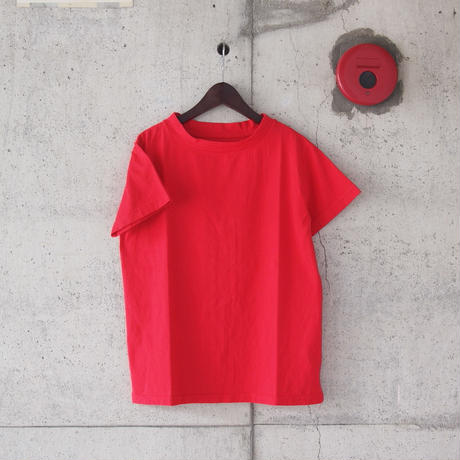 【women】Lim home〈リムホーム〉HOMIE TEE RED