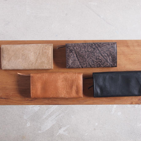 Dono〈ドーノ〉 LETTER LONG WALLET TAUPE/NUME/CHOCO/BLACK