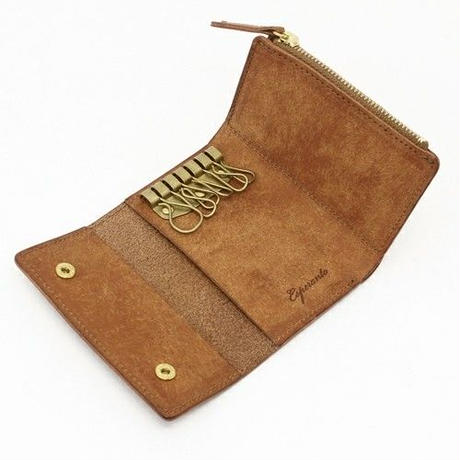 Esperanto〈エスペラント〉 PUEBLO KEY CASE RED/BLACK/CAMEL/BROWN/BLUE
