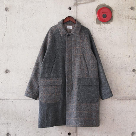 Manual Alphabet〈マニュアルアルファベット〉 HARRIS TWEED BAL COLLAR COAT  CRAZY