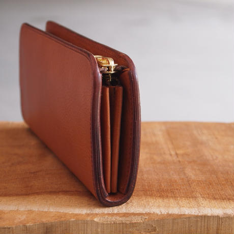 Dono〈ドーノ〉 ARIZONA LEATHER LONG WALLET BROWN/YELLOW/BLACK